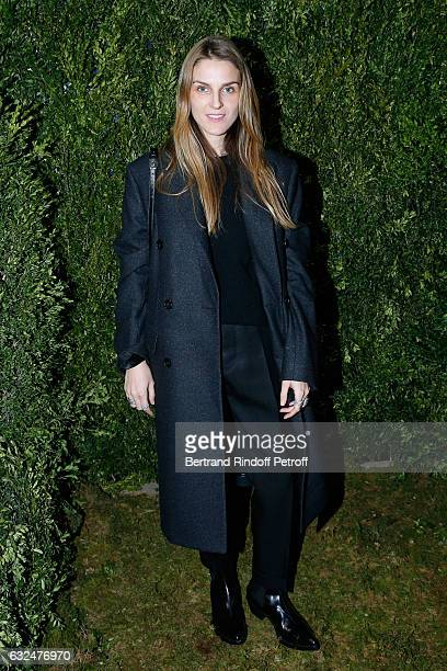 Gaia Repossi attends the Christian Dior Haute Couture Spring Summer 2017 show as part of Paris Fashion Week on January 23 2017 in Paris France