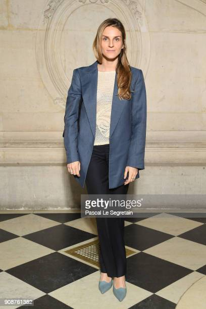 Gaia Repossi attends the Christian Dior Haute Couture Spring Summer 2018 show as part of Paris Fashion Week on January 22 2018 in Paris France