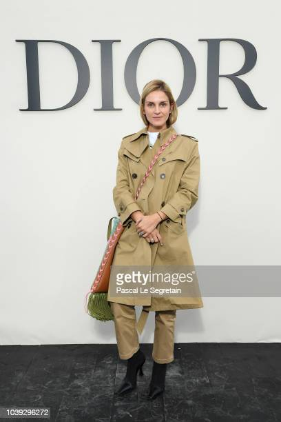 Gaia Repossi attends the Christian Dior show as part of the Paris Fashion Week Womenswear Spring/Summer 2019 on September 24 2018 in Paris France