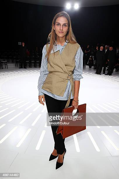 Gaia Repossi attends the Christian Dior show as part of the Paris Fashion Week Womenswear Spring/Summer 2015 on September 26 2014 in Paris France