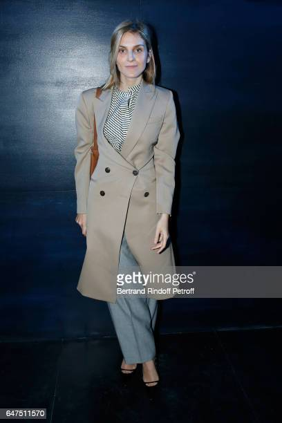 Gaia Repossi attends the Christian Dior show as part of the Paris Fashion Week Womenswear Fall/Winter 2017/2018 on March 3 2017 in Paris France