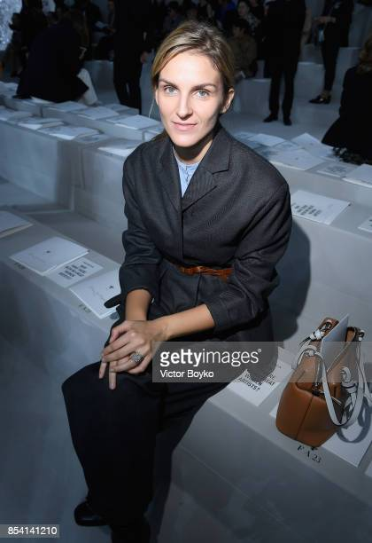 Gaia Repossi attends the Christian Dior show as part of the Paris Fashion Week Womenswear Spring/Summer 2018 on September 26, 2017 in Paris, France.