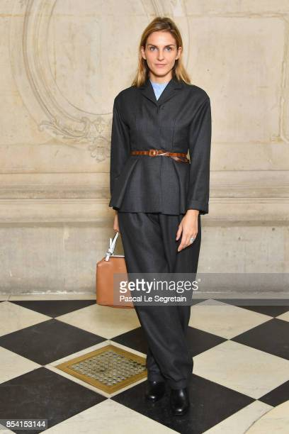 Gaia Repossi attends the Christian Dior show as part of the Paris Fashion Week Womenswear Spring/Summer 2018 on September 26 2017 in Paris France