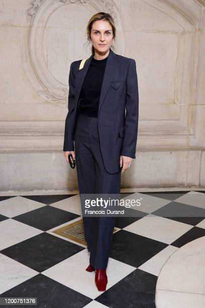 Gaia Repossi attends the Dior Haute Couture Spring/Summer 2020 show as part of Paris Fashion Week on January 20 2020 in Paris France