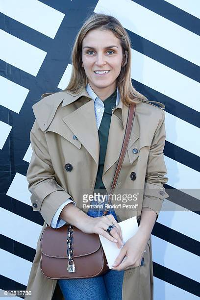 Gaia Repossi attends the Louis Vuitton show as part of the Paris Fashion Week Womenswear Spring/Summer 2017 on October 5, 2016 in Paris, France.