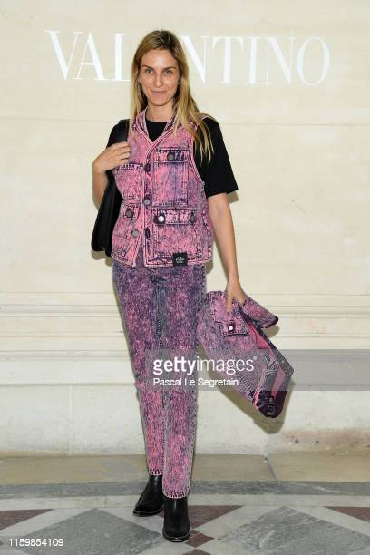 Gaia Repossi attends the Valentino Haute Couture Fall/Winter 2019 2020 show as part of Paris Fashion Week on July 03, 2019 in Paris, France.