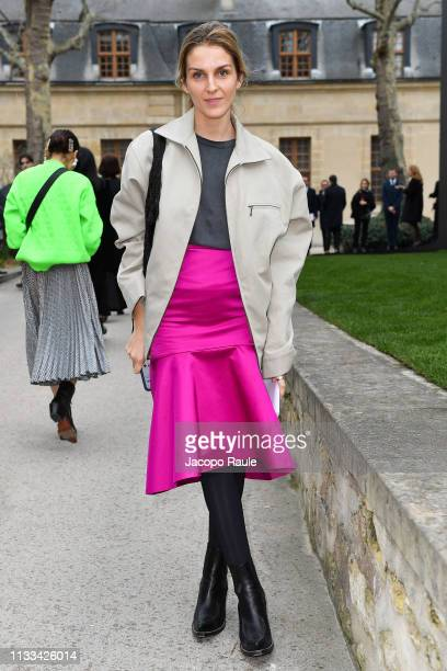 Gaia Repossi attends the Valentino show as part of the Paris Fashion Week Womenswear Fall/Winter 2019/2020 on March 03, 2019 in Paris, France.
