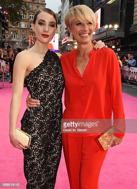 Gaia Romilly Wise and Emma Thompson attend the World Premiere of Bridget Jones's Baby at Odeon Leicester Square on September 5 2016 in London England