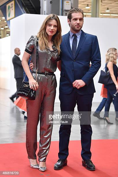 Gaia Trussardi and Tomaso Trusardi attend the Convivio 2014 on June 12, 2014 in Milan, Italy.