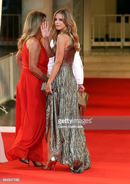 Gaia Trussardi attends the '99 Homes' premiere during the 71st Venice Film Festival on August 29, 2014 in Venice, Italy.
