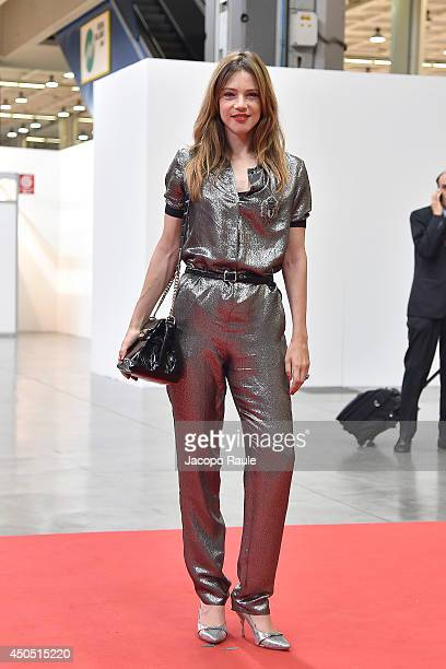 Gaia Trussardi attends the Convivio 2014 on June 12, 2014 in Milan, Italy.