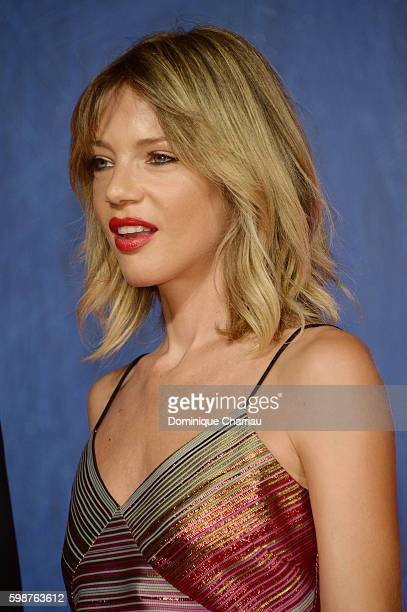 Gaia Trussardi attends the premiere of 'Franca Chaos And Creation' during the 73rd Venice Film Festival at Sala Giardino on September 2 2016 in...