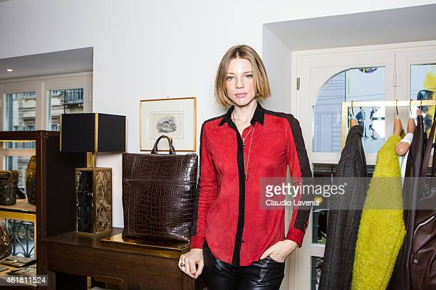Gaia Trussardi attends Trussardi Presentation during the Milan Menswear Fashion Week/Fall Winter 2015/2016 on January 19, 2015 in Milan, Italy.