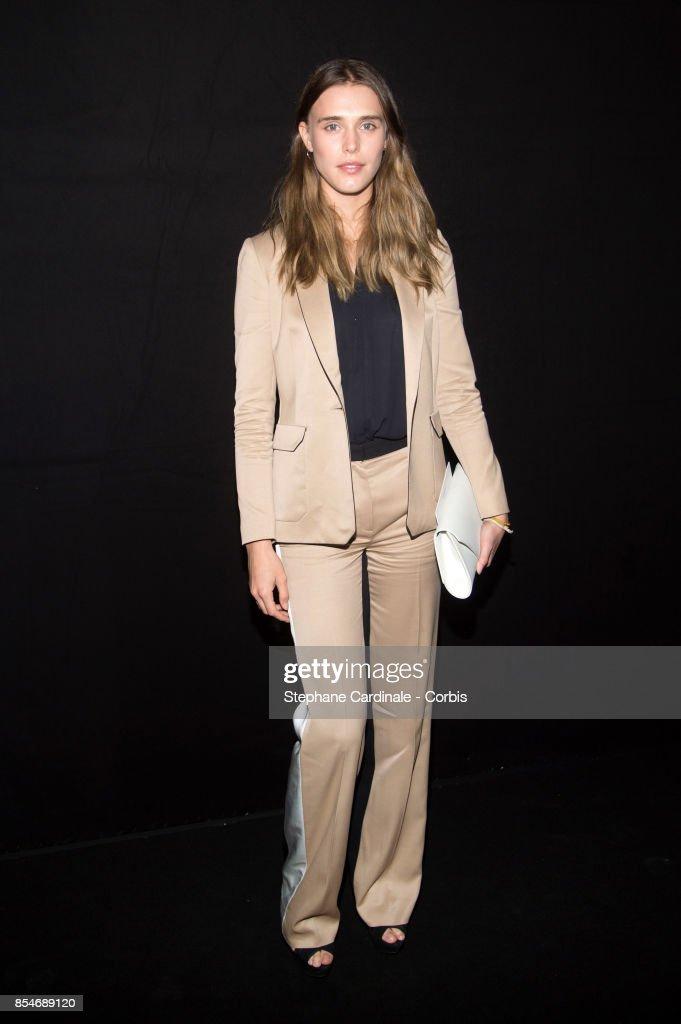 Lanvin : Front Row - Paris Fashion Week Womenswear Spring/Summer 2018