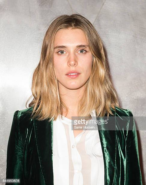 Gaia Weiss attends the Ralph Russo And Chopard Host Dinner as part of Paris Fashion Week on July 4 2016 in Paris France