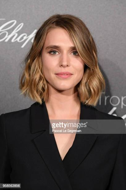 Gaia Weiss attends the Trophee Chopard during the 71st annual Cannes Film Festival at Hotel Martinez on May 14 2018 in Cannes France