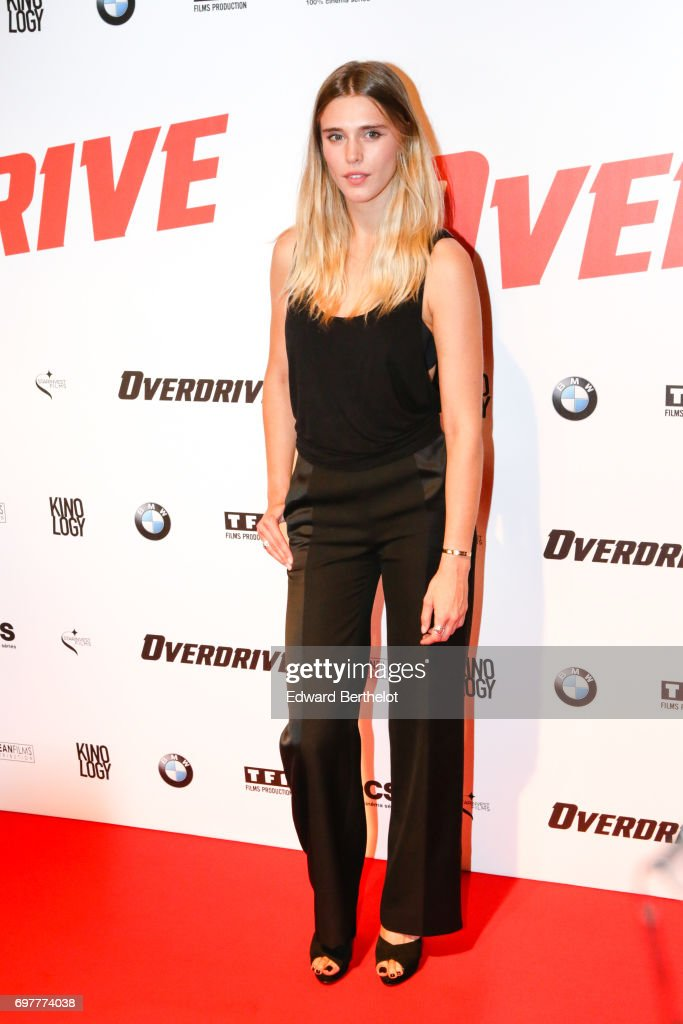 Gaia Weiss, during the 'Overdrive' Paris Premiere photocall at Cinema Gaumont Capucine on June 19, 2017 in Paris, France.