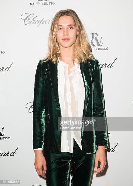 Gaia Weissattends the Ralph Russo And Chopard Host Dinner as part of Paris Fashion Week on July 4 2016 in Paris France