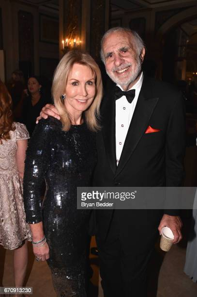 Gail and Carl Icahn attend the ASPCA hosted 20th Annual Bergh Ball at The Plaza Hotel on April 20 2017 in New York City