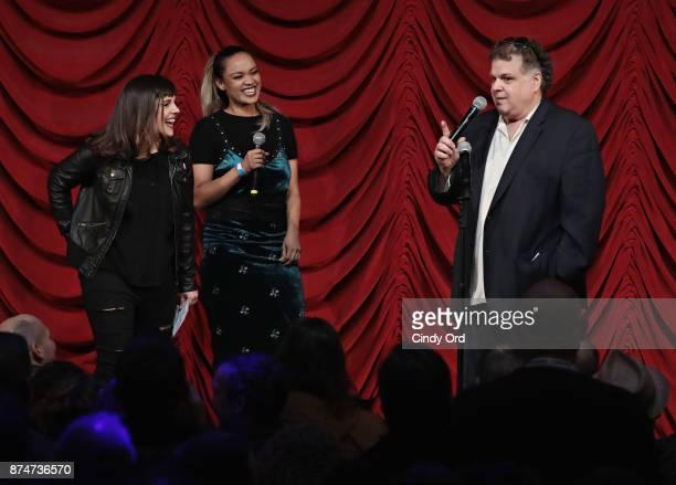 Gail Bennington Jenn Daniel and Ron Bennington perform during SiriusXM host Ron Bennington's annual Thanksgiving Special at Hard Rock Cafe Times...