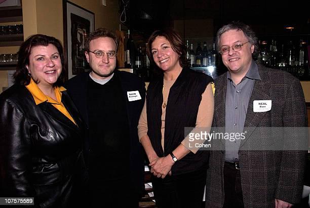 Gail Berman David Kissinger Karyn Mandabach David Baer at the 2001 TPEC Holiday Party
