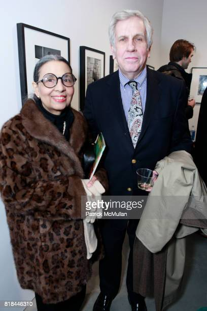 Gail Buckley and Kevin Buckley attend TIMOTHY GREENFIELDSANDERS And CYNTHIA MACADAMS Gallery Opening at Steven Kasher Gallery on January 28 2010 in...
