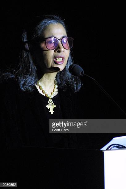 Gail Buckley at the Grammy Foundation Salute to Musical Masters at the Paramount Theater in Los Angeles 2/18/01 Photo by Scott Gries/Getty Images
