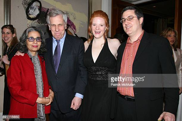 Gail Buckley Kevin Buckley Erin Zammett and Christopher Nepolatano attend Book party for Erin's Zammett's book My Normal Life at Denise Rich's...
