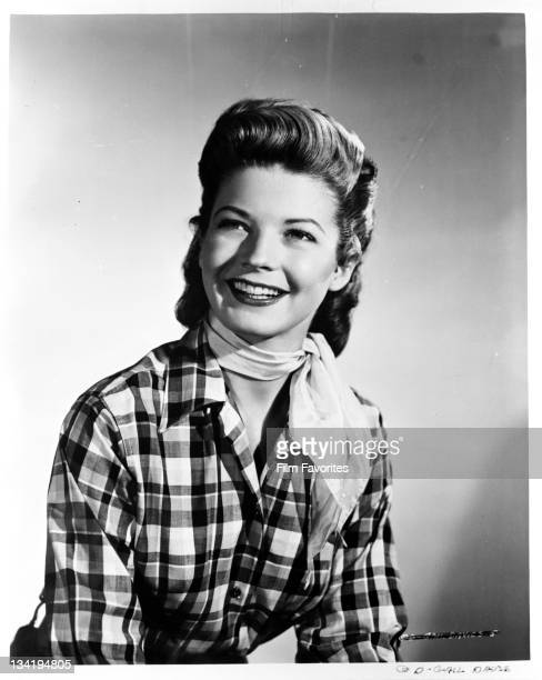 Gail Davis wearing western outfit 1950s