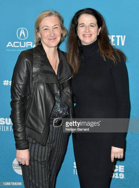Gail Egan and Andrea Calderwood attend Salt Lake Opening Night Screening Of The Boy Who Harnessed The Wind Presented By Zions Bank during 2019...