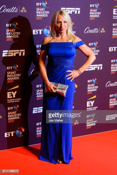 Gail Emms attends the BT Sport Industry Awards at Battersea Evolution on April 27 2017 in London England