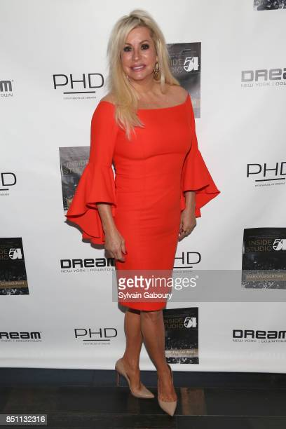 Gail Evertz attends Mark Fleischman and Friends Celebrate Inside Studio 54 at PHD Rooftop Lounge at Dream Downtown on September 21 2017 in New York...