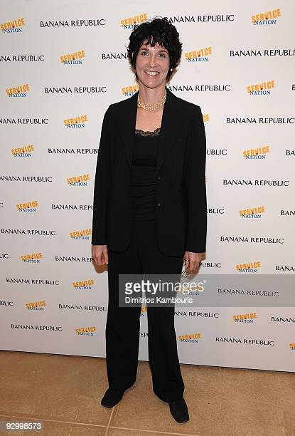 Gail Gershon Director of Employee Engagement at Gap Foundation attends the Soho Flagship Store celebration launch of ONEALL at Banana Republic Soho...