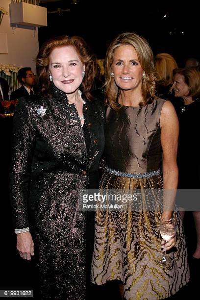 Gail Hilson and Grace Meigher attend The Society of Memorial SloanKettering Cancer Center's 20th Annual Preview Party for the International Fine Art...