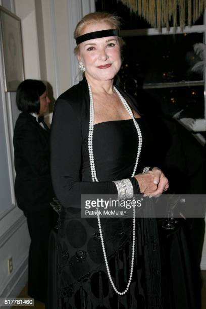 Gail Hilson attends Portrait artist ZITA DAVISSON's Great Gatsby Party A Roaring 20's Evening at Private Residence on October 20 2010 in New York