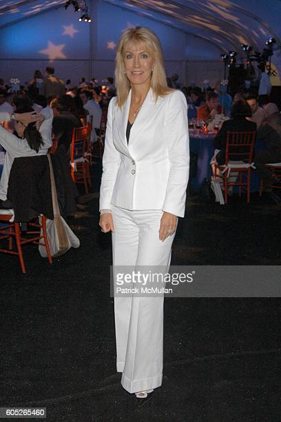 Gail Icahn attends Randall's Island Sports Foundation and MasterCard Celebrate Soccer in the USA at Randall's Island on May 8 2006 in New York City