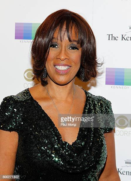 Gail King attends the 38th Annual Kennedy Center Honors Gala at John F Kennedy Center for the Performing Arts on December 6 2015 in Washington DC