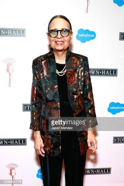 Gail Lumet Buckley attends the Lena Horne Prize Event Honoring Solange Knowles Presented by Salesforce at the Town Hall on February 28 2020 in New...