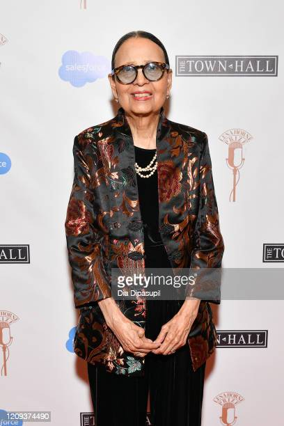 Gail Lumet Buckley attends The Lena Horne Prize for Artists Creating Social Impact inaugural celebration at The Town Hall on February 28 2020 in New...