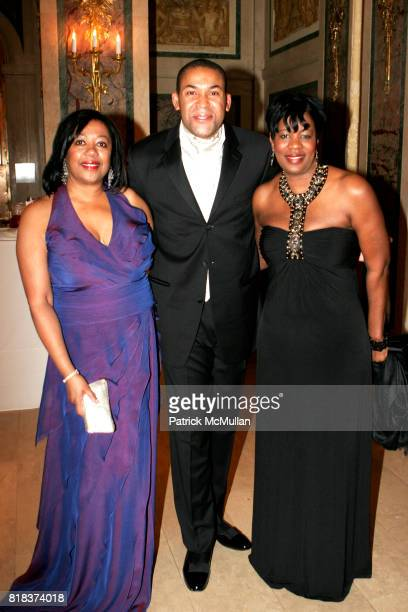Gail Monroe Perry Omar Karriem and Ann White attend Grace in Winter Silver Ball Celebrating the 25th Anniversary of Ronald K Brown's Acclaimed...