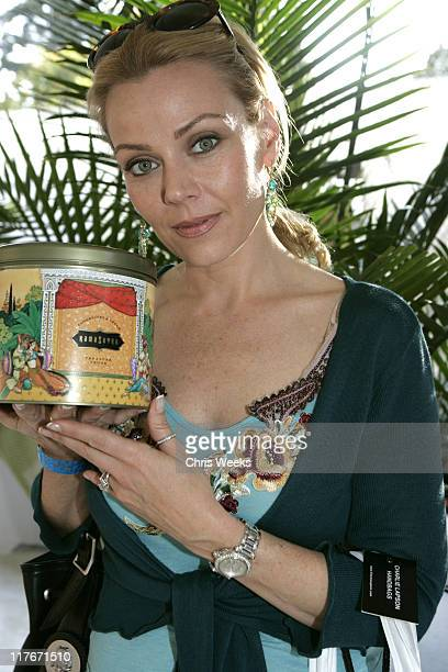 Gail O'Grady at Kama Sutra during Silver Spoon PreEmmy Hollywood Buffet Day 1 in Los Angeles California United States Photo by Chris Weeks/WireImage...