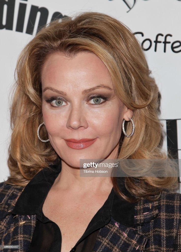 Gail O'Grady attends the 2nd annual Borgnine movie star gala honoring actor Joe Mantegna at Sportman's Lodge on February 1, 2014 in Studio City, California.