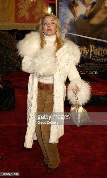 Gail O'Grady during 'Harry Potter and the Chamber of Secrets' Premiere Los Angeles Arrivals at Mann Village Theatre in Westwood California United...