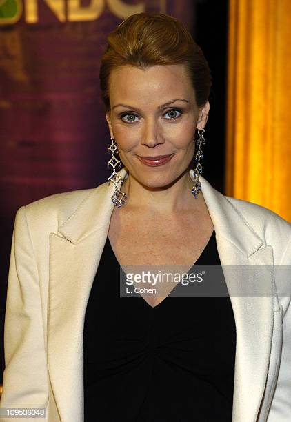 Gail O'Grady of 'American Dreams' during NBC AllStar Party Red Carpet at Hollywood and Highland Entertainment Complex in Hollywood California United...