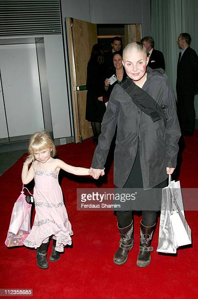 Gail Porter and daughter Holly during English National Ballet Celebrity Party 2006 at StMartins Hotel in London Great Britain