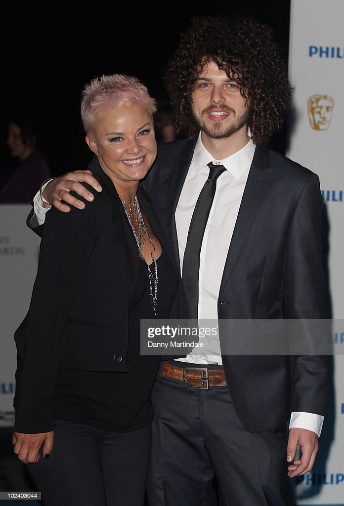 Gail Porter and friend attend the after party for the Philips British Academy Television awards (BAFTA) at Natural History Museum on June 6, 2010 in London, England.