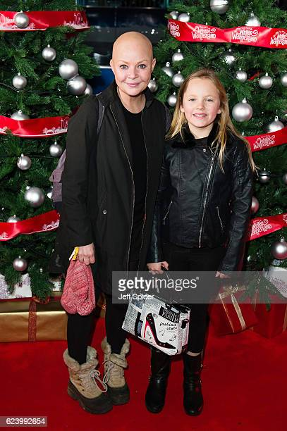 Gail Porter arrives for the VIP Preview of Winter Wonderland at Hyde Park on November 17, 2016 in London, United Kingdom.