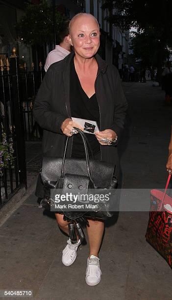 Gail Porter at Beach Blanket Babylon on June 15, 2016 in London, England.