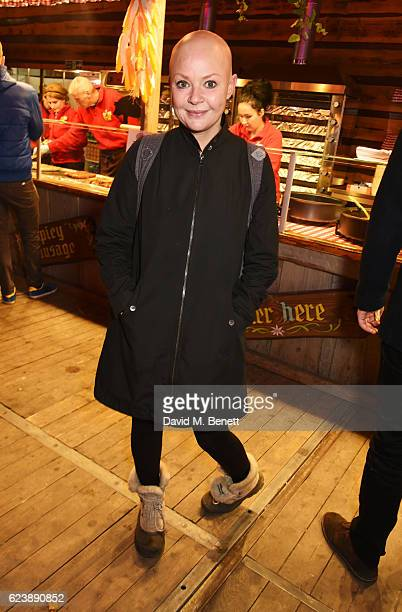 Gail Porter attends a VIP Preview of Hyde Park's Winter Wonderland 2016 on November 17, 2016 in London, United Kingdom.