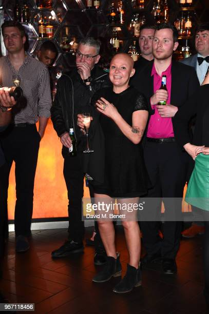 Gail Porter attends as Cooper Hefner hosts VIP party at Playboy Club London to celebrate Playboy's nomination at the British LGBT+ Awards taking...